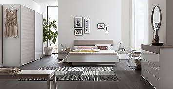 Camera Da Letto Bianco Laccato : Composizione per camera da letto matrimoniale color bianco