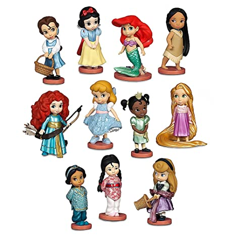 8f8d72bdf97 Amazon.com  Disney Animators  Collection Deluxe Figure Play Set  Toys    Games