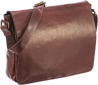 Leonhard Heyden Cambridge Messenger Bag Umhängetasche 32 cm Cognac