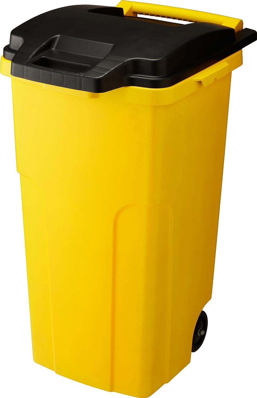 リス キャスター付きゴミ箱 キャスターペール 90C2 90L 2輪 イエロー B005J0WSBU 90L|イエロー イエロー 90L
