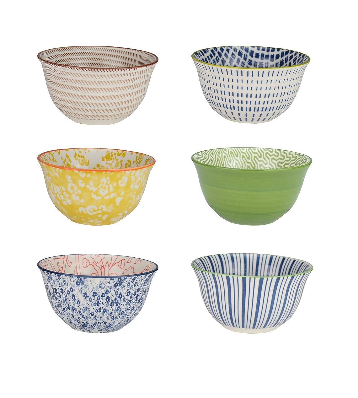 Ard'time ec-6sabbol11–2ciotola sabaé, Ceramica, Multicolore, 11cm ard' time EC-6SABBOL11-2