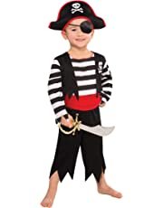 Christy's Toddler Rascal Deckhand Pirate Costume (3-4 Years)