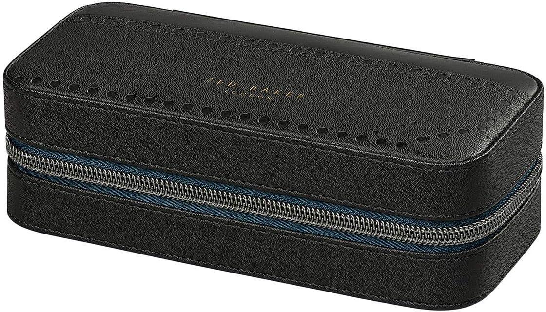 Ted Baker - Reloj de viaje con estuche de belleza, 18 cm, color negro: Amazon.es: Equipaje