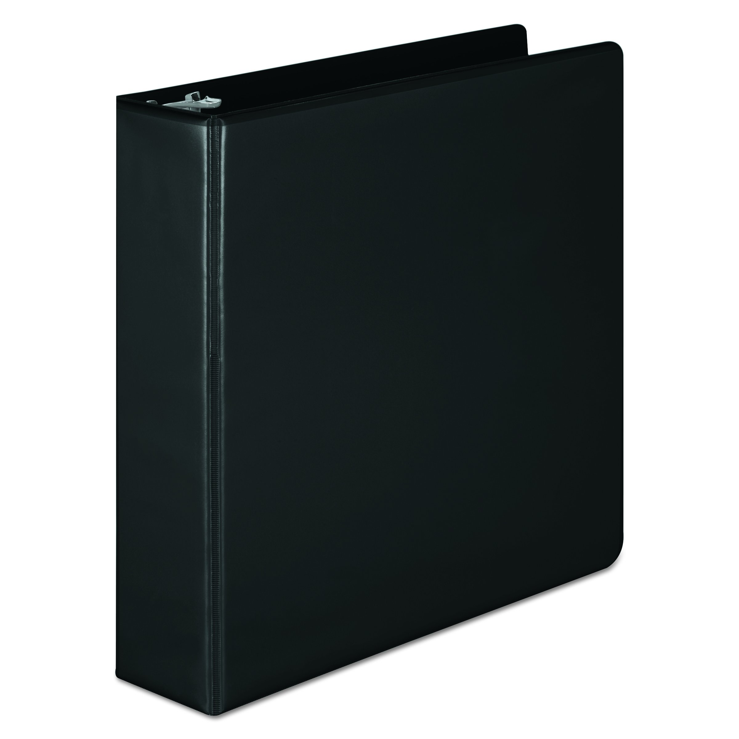 Wilson Jones 2 Inch 3 Ring Binder, Basic D-Ring View Binder, Black (W386-44BA)