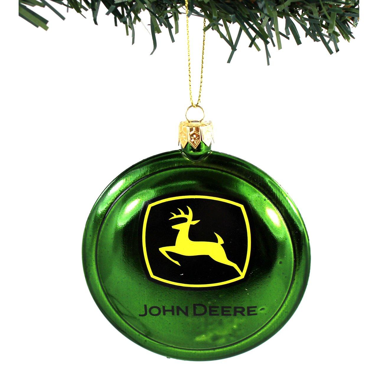 John Deere Kurt Adler Ornaments Gift Boxed (JD Logo Disc): Amazon.ca ...