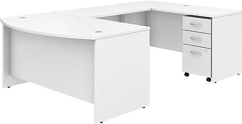Studio C 60W x 36D U Shaped Desk - a good cheap modern office desk