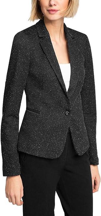 ESPRIT Veste Femme Noir (Black 001) FR : 36 (Taille