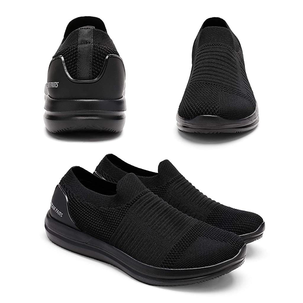DREAM PAIRS Bruno Marc Mens Slip On Walking Shoes Sneakers
