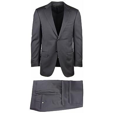 e632a089 Amazon.com: Ermenegildo Zegna New Black Suit 36/46: Clothing