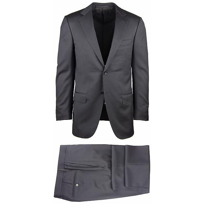brand new 9ed70 c76bf Amazon.com: Ermenegildo Zegna New Black Suit 36/46: Clothing