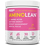 RSP AminoLean - All-in-One Pre Workout, Amino Energy, Weight Management Supplement with Amino Acids, Complete Preworkout…