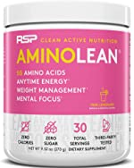 RSP AminoLean - All-in-One Pre Workout, Amino Energy, Weight Management Supplement