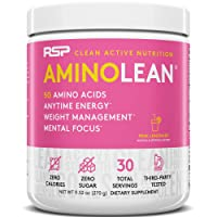 RSP AminoLean - All-in-One Pre Workout, Amino Energy, Weight Management Supplement...
