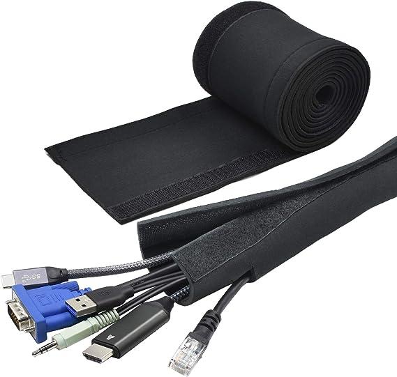 cubierta de agujero de alambre Chiloskit 2 piezas de 5 cm de aleaci/ón de metal para ordenador cable de escritorio organizador de salida de ojales
