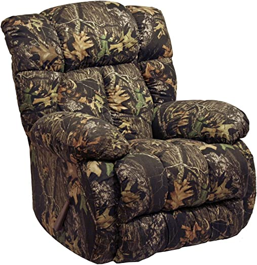 Cloud Nine Camo Rocker Recliner Mossy Oak