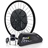 BionX, D 500 DV, Electric Assist System, 700, Black V-Brake (disc compatible) Rim, Black Spokes