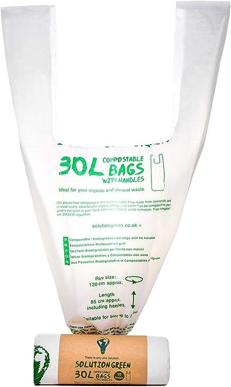 Solution Green Bolsas de Basura 100% Biodegradables y Compostables ...