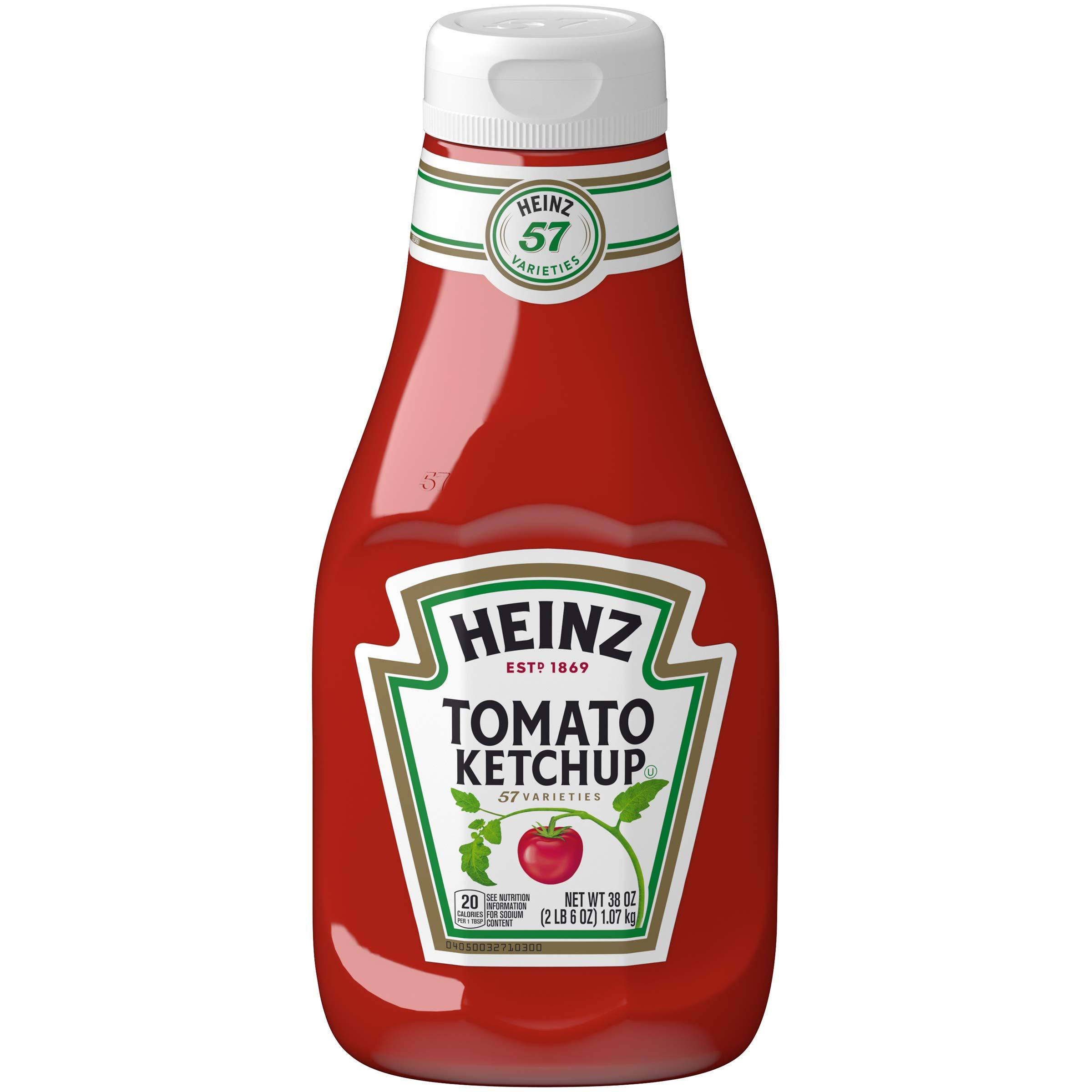Heinz Bulk Tomato Ketchup (38 oz Bottles, Pack of 12) by Heinz