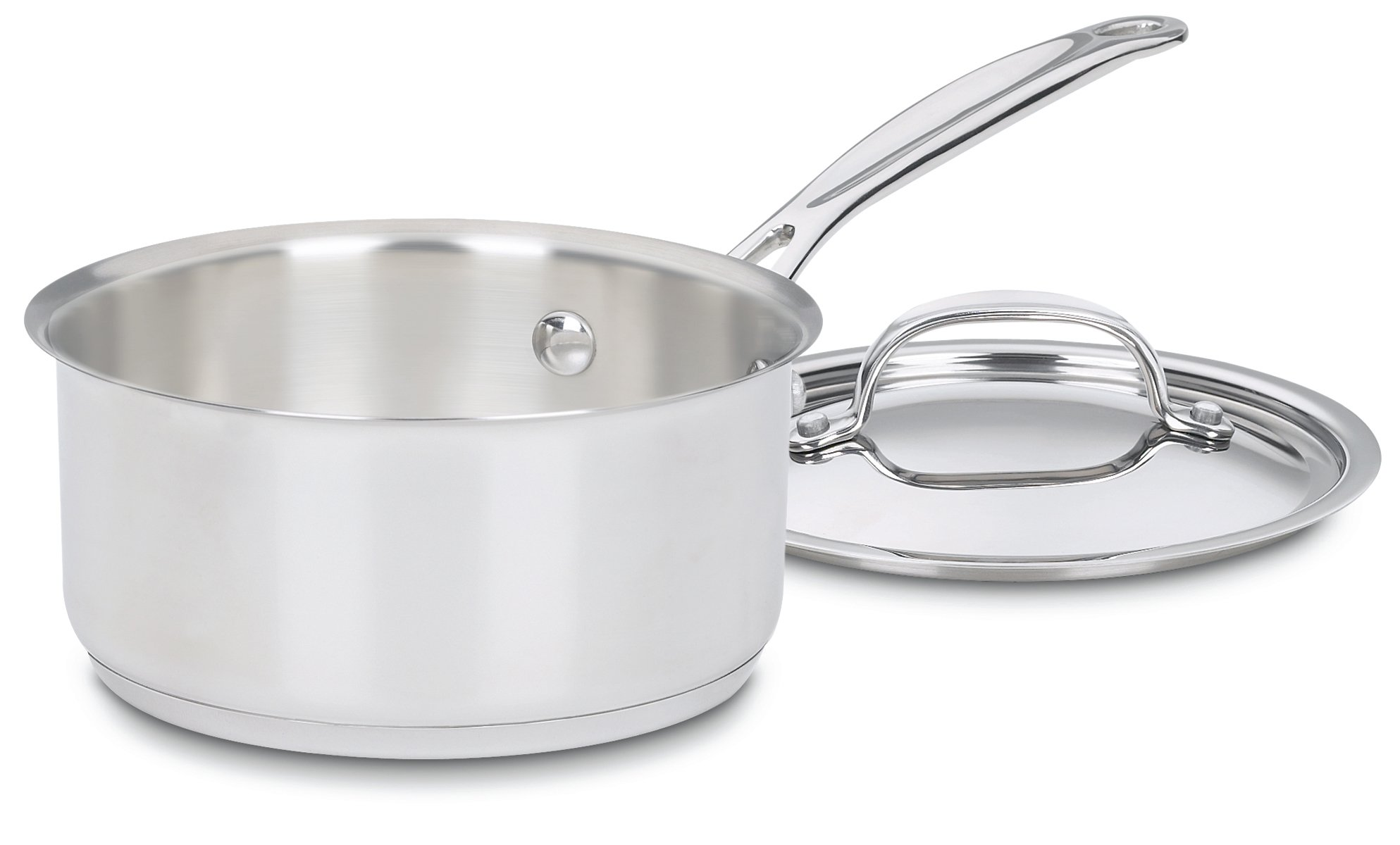 Cuisinart 719-16 Chef's Classic Stainless Saucepan with Cover, 1 1/2 Quart by Cuisinart