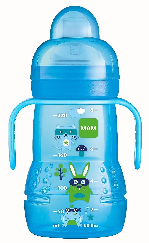 MAM Baby Products 62838211 Bottle Trainer Plus 220 ml Boys Blue MAM Babyartikel