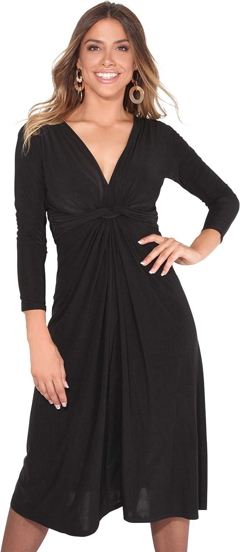 TALLA 46. KRISP Chaqueta Mujer Fiesta Punto Encaje Blazer Elegante Cardigan Negro (2705) 46