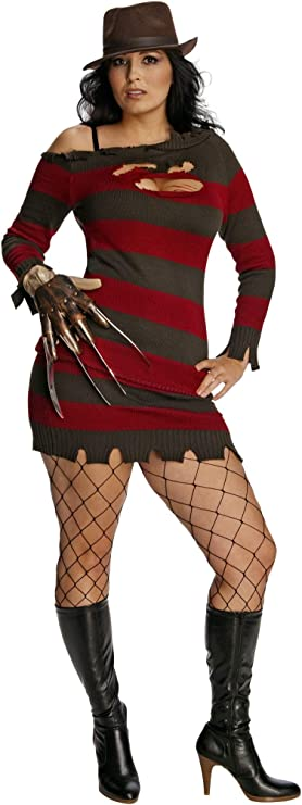Details about  /NEW LICENSED Freddy Kreuger Nightmare ON Elm Street HALLOWEEN Costume FREESHIP