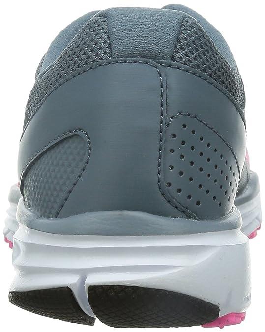 buy online 81c42 a590a Nike Lunar Forever Femmes 4 Baskets pour Chaussures de Course à Pied pour  Femme Rose Gris Blanc-Taille 5  Amazon.fr  Chaussures et Sacs
