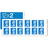 12 x 2nd Class Standard Self Adhesive Stamp Sheet Royal Mail Post Office