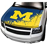 NCAA Michigan Auto Hood Cover, One Size, One Color