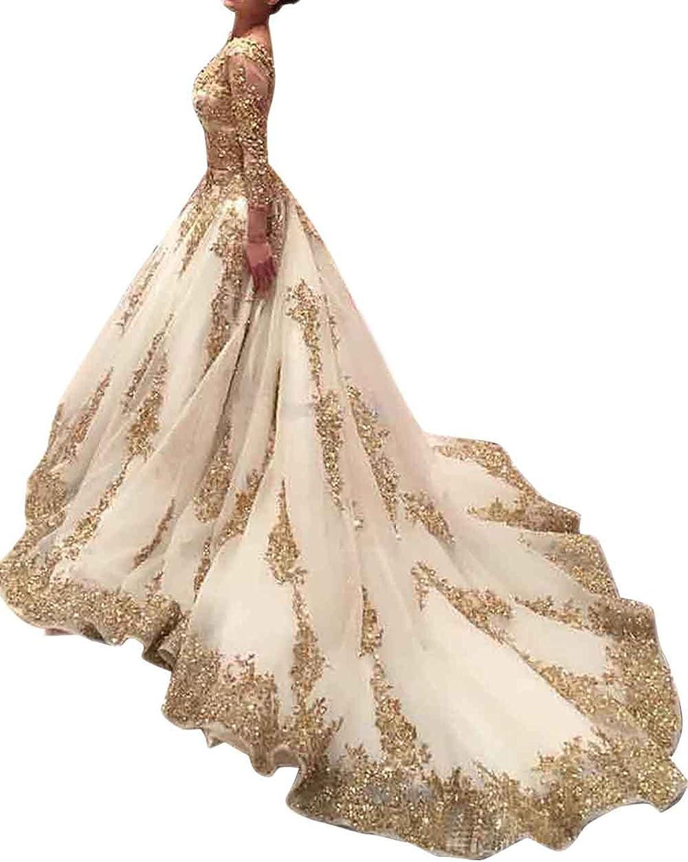 Luxurious Wedding Dress Bride 2017 Long