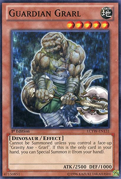 Yu-Gi-Oh! - Guardian Grarl (LCYW-EN131) - Legendary Collection 3: Yugis World - 1st Edition - Common