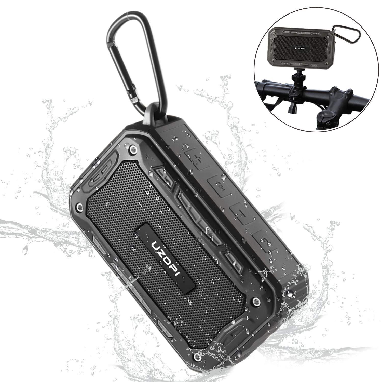 Bluetooth Lautsprecher Wasserdicht - Badezimmer Outdoor Fahrrad Lautsprecher fü r Handy, Wireless IP67 10W 2200mAh Bluetooth Speaker mit Fahrradhalter/Aux / TF/Mikrofon Cookan