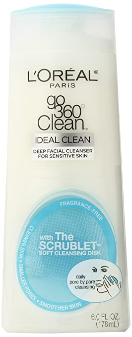 L'Oréal Paris Go 360° Clean Cleanser Sensitive Skin, 6 fl. oz.