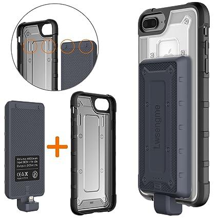 Amazon.com: iPhone 6/6S/7/8 estuche de batería, lwsengme de ...