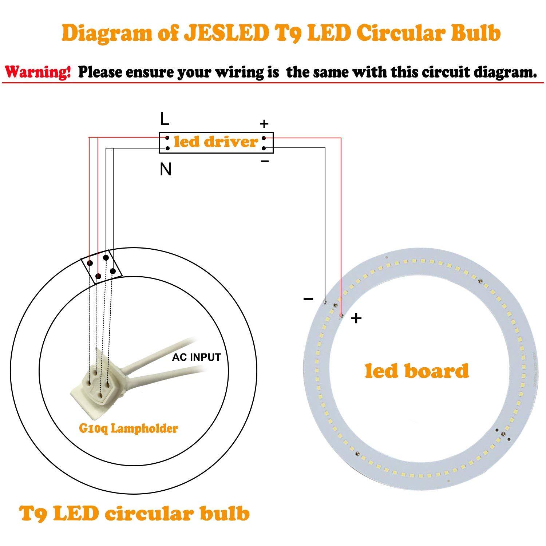 T9 Wiring Diagram Library For Led Bulb Amazoncom Jesled Upgrade