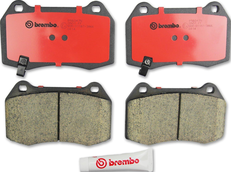 Front Disc Brake Pad Brembo P56058N Fits Infiniti EX35 Nissan Pathfinder