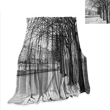 Amazon.com: Anyangeight Black and White Custom Design Cozy ...