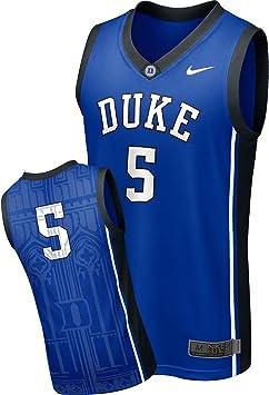 Nike Duke Blue Devils Maillot de Basketball pour Homme, Bleu