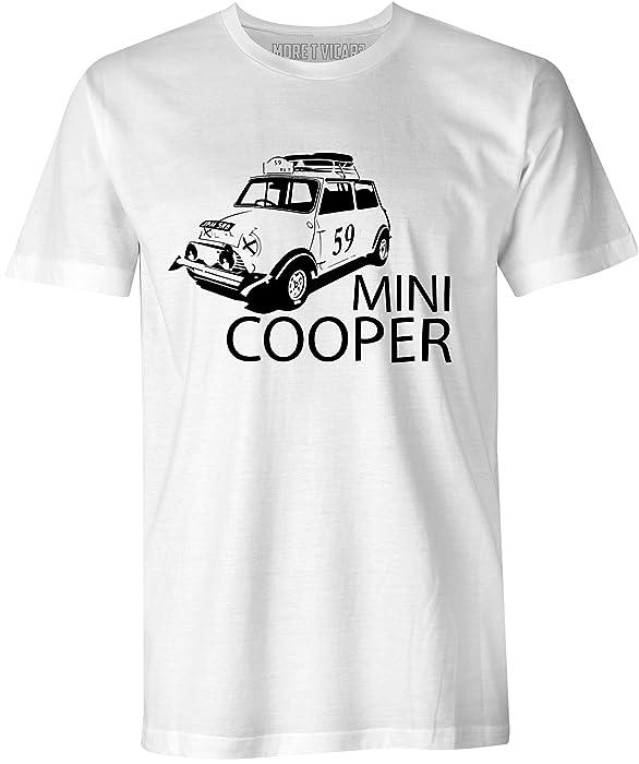 More T Vicar Mini Cooper Ladies T Shirt
