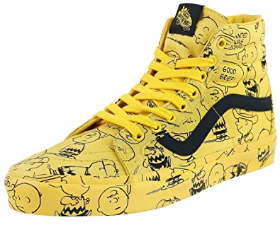 vans peanuts jaune