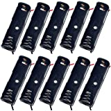 Battery Holder with Lead Wire, 1 x AAA Cell Pack of 10