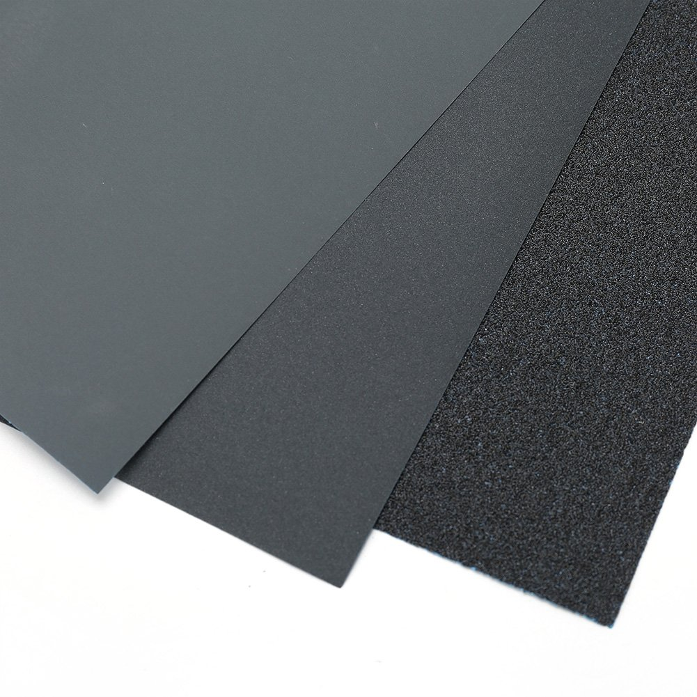 for Metal Sanding Silicon Carbide Sanding Sheets Wood Furniture 9 x 11 80 to 3000 Grit Assortment Automotive Polishing Wood Turing Finishing Pack of 30 Dry Wet Sandpaper Sheets by LotFancy
