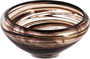 Dreamsbaku Kisspoint Colorful Handmade Fruit Bowl Centerpiece Glass Vase Plate Kitchen Tray for Home Decor Candy Vegetable Platter Holder 5