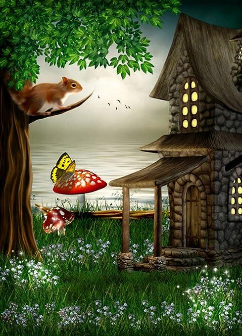 Amazon Com Gardenia 6x8ft Fairy Tale Enchanted Forest Theme