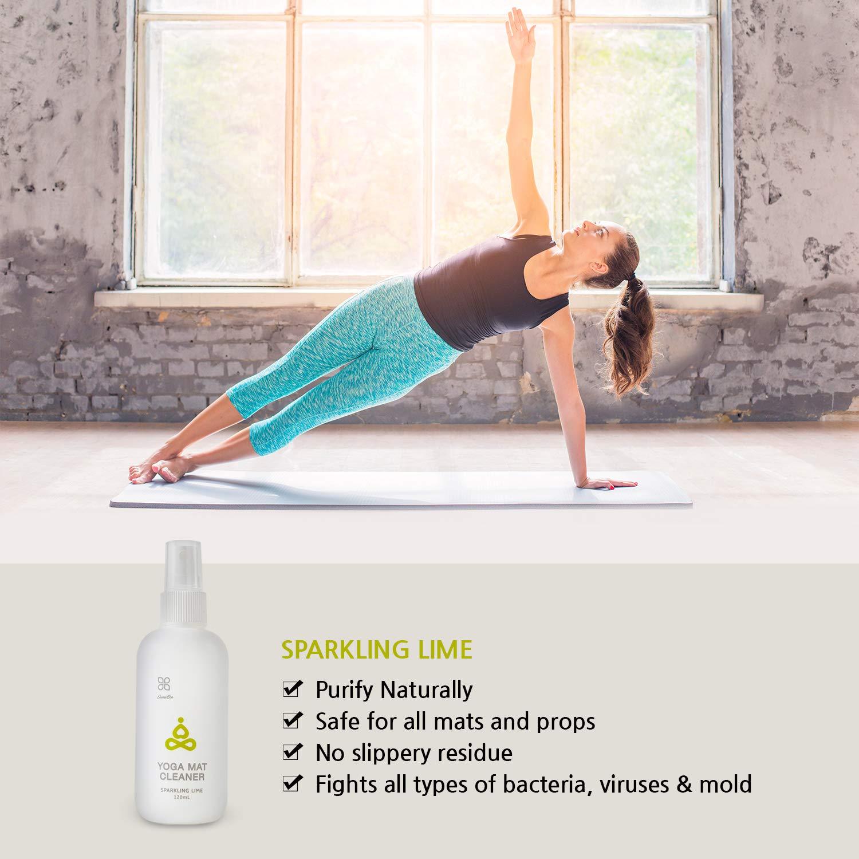 OKIEOKIE - Limpiador de esterilla de yoga 100% natural ...