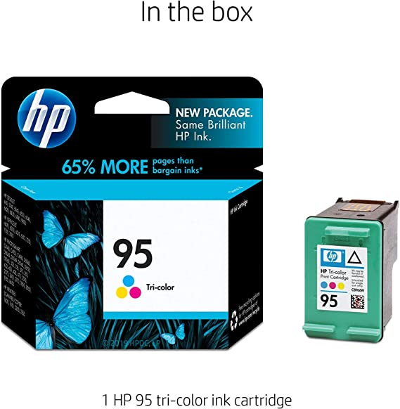 Amazon.com: Cartucho de tinta tricolor original HP 95 ...