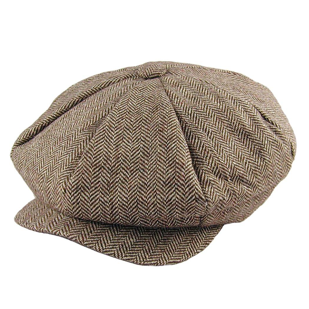 Amazon.com  Jaxon Herringbone Big Apple Cap (1 Size 9fde426e3995