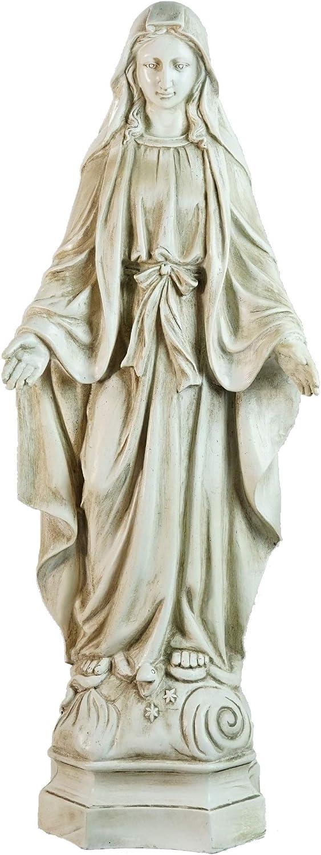 "Northlight Standing Religious Virgin Mary Outdoor Garden Statue, 28.25"""