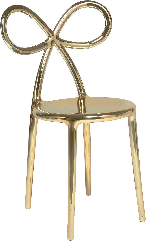 QEEBOO 80002GO - Set di 2 sedie con Nastro, Finitura in ...