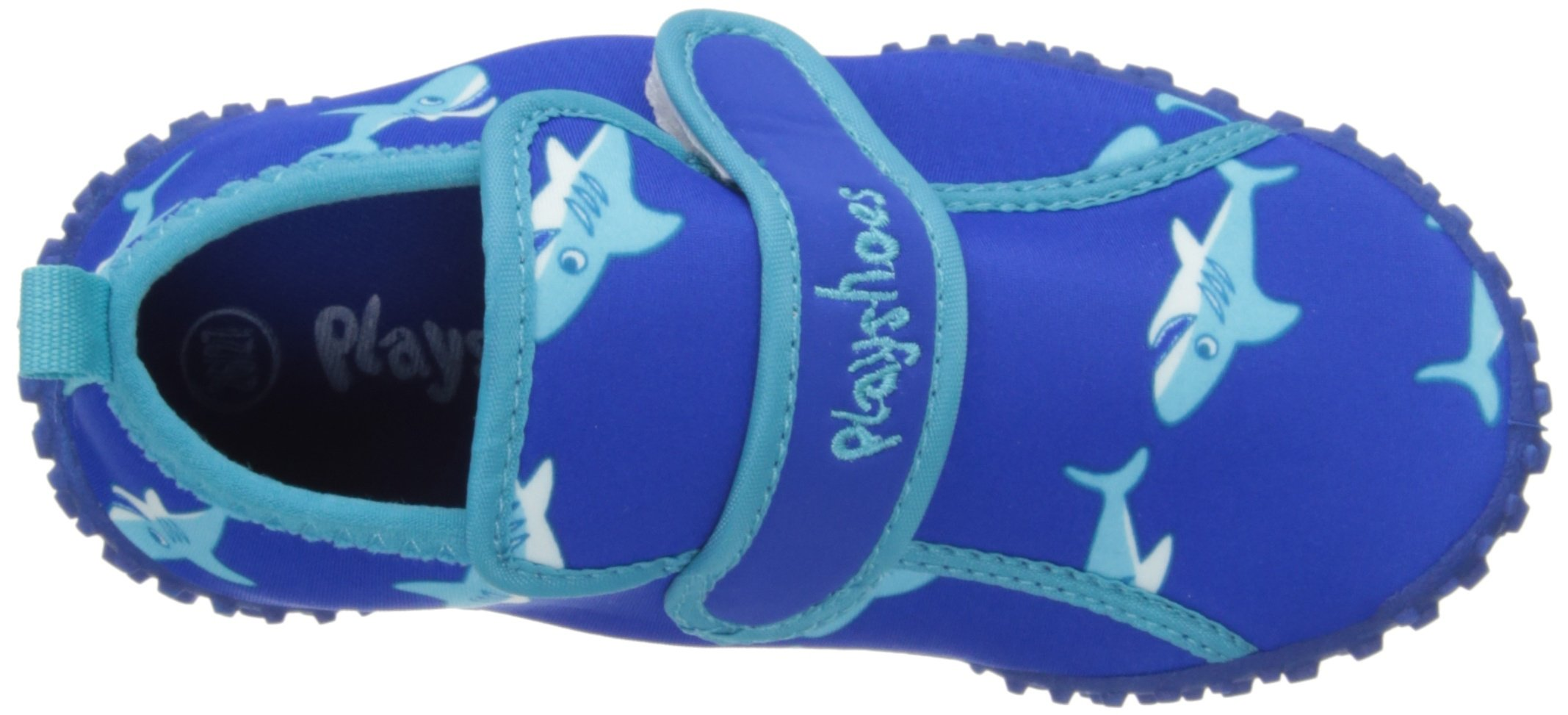 Playshoes Boys UV Protection Shark Collection Aqua Swimming/Beach Shoes (11.5 M US Little Kid) by Playshoes (Image #7)